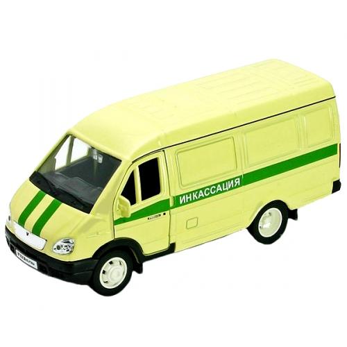 Коллекционная модель машины ГАЗель. Инкассация 1:34-39 42387CCN