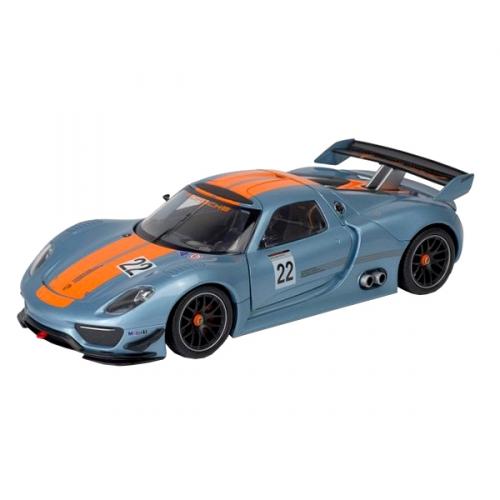 Коллекционная модель машины Porsche 918 RSR 1:24 24044