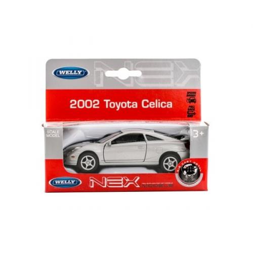 Коллекционная модель машины 2002 Toyota Celica 1:34-39 42327