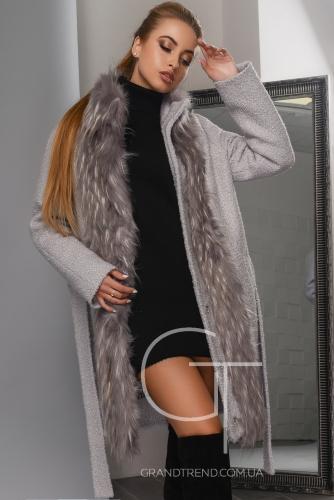 Зимнее пальто  LS-8765-4-Серый
