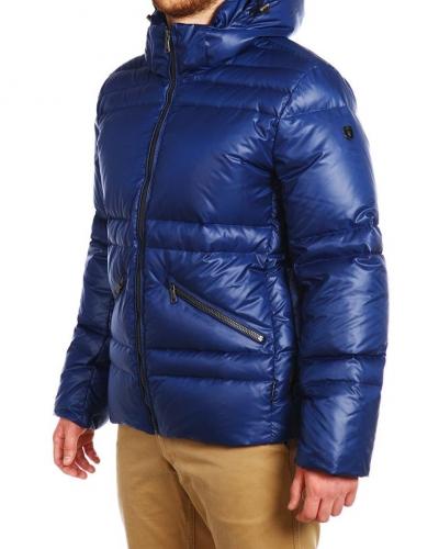 Куртка пуховая короткая 15507 Sky