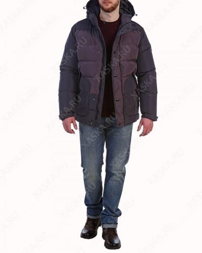 Куртка пуховая средней длины 17702 Phantom Grey