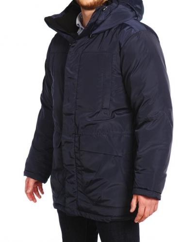Куртка пуховая удлиненная 12207 Navy