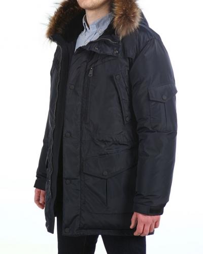 Куртка пуховая удлиненная 16612 Night