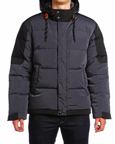 Куртка пуховая средней длины 16509 Night Graf