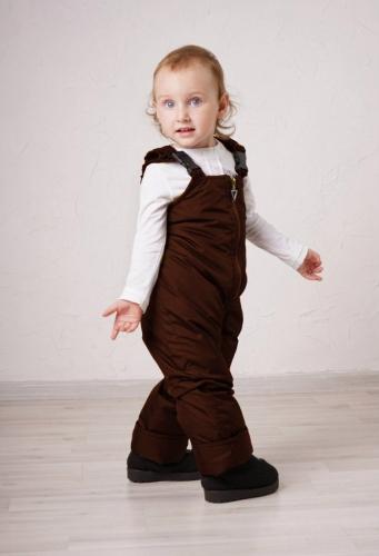 Полукомбинезон детский Арт 123 шоколад